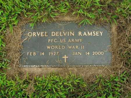 RAMSEY  (VETERAN WWII), ORVEL DELVIN - Boone County, Arkansas | ORVEL DELVIN RAMSEY  (VETERAN WWII) - Arkansas Gravestone Photos