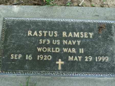 RAMSEY  (VETERAN WWII), RASTUS - Boone County, Arkansas | RASTUS RAMSEY  (VETERAN WWII) - Arkansas Gravestone Photos