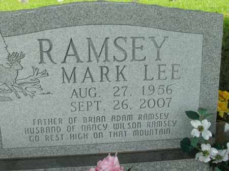 RAMSEY, MARK LEE - Boone County, Arkansas | MARK LEE RAMSEY - Arkansas Gravestone Photos