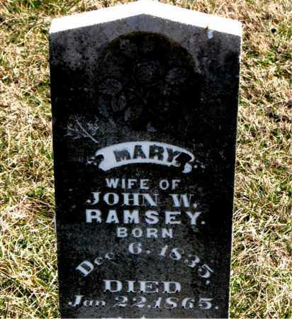 RAMSEY, MARY - Boone County, Arkansas | MARY RAMSEY - Arkansas Gravestone Photos