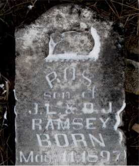 RAMSEY, ROS - Boone County, Arkansas | ROS RAMSEY - Arkansas Gravestone Photos