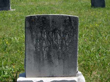 RAMSEY, VIRGINIA L. - Boone County, Arkansas | VIRGINIA L. RAMSEY - Arkansas Gravestone Photos