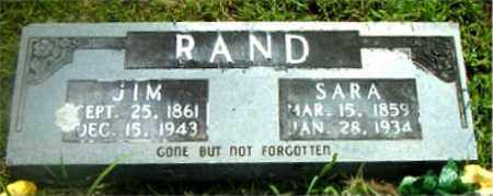 RAND, JIM - Boone County, Arkansas | JIM RAND - Arkansas Gravestone Photos