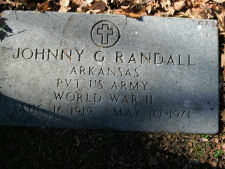 RANDALL  (VETERAN WWII), JOHNNY G - Boone County, Arkansas | JOHNNY G RANDALL  (VETERAN WWII) - Arkansas Gravestone Photos