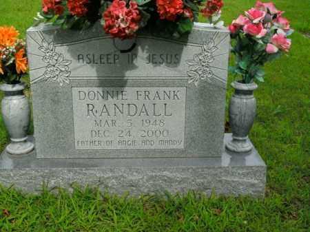 RANDALL, DONNIE FRANK - Boone County, Arkansas | DONNIE FRANK RANDALL - Arkansas Gravestone Photos