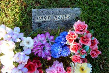 RANER, MARY - Boone County, Arkansas | MARY RANER - Arkansas Gravestone Photos