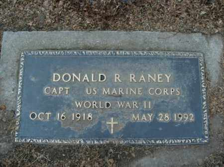 RANEY  (VETERAN WWII), DONALD ROY - Boone County, Arkansas | DONALD ROY RANEY  (VETERAN WWII) - Arkansas Gravestone Photos
