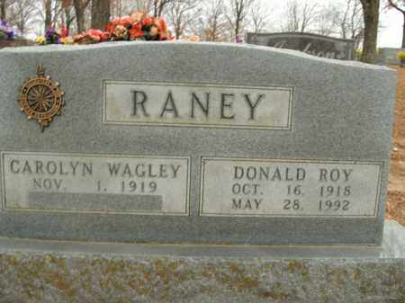 RANEY, DONALD ROY - Boone County, Arkansas | DONALD ROY RANEY - Arkansas Gravestone Photos
