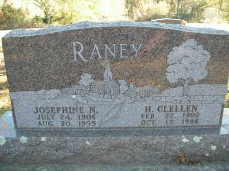 RANEY, JOSEPHINE N. - Boone County, Arkansas | JOSEPHINE N. RANEY - Arkansas Gravestone Photos