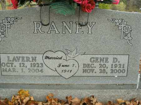RANEY, LAVERN - Boone County, Arkansas | LAVERN RANEY - Arkansas Gravestone Photos