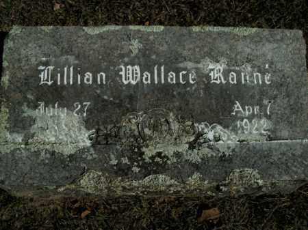 WALLACE RANNE, LILLIAN - Boone County, Arkansas | LILLIAN WALLACE RANNE - Arkansas Gravestone Photos