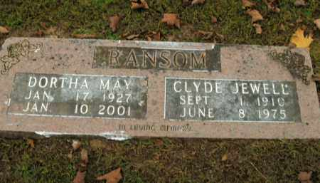 RANSOM, CLYDE JEWELL - Boone County, Arkansas | CLYDE JEWELL RANSOM - Arkansas Gravestone Photos