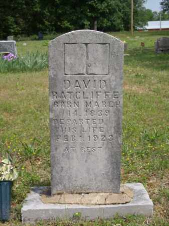 RATCLIFFE, DAVID - Boone County, Arkansas | DAVID RATCLIFFE - Arkansas Gravestone Photos