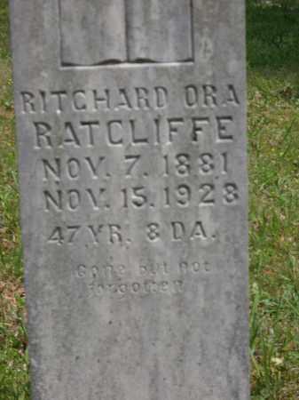 RATCLIFFE, RITCHARD ORA - Boone County, Arkansas | RITCHARD ORA RATCLIFFE - Arkansas Gravestone Photos