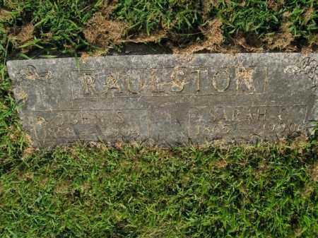 RAULSTON, SARAH C. - Boone County, Arkansas | SARAH C. RAULSTON - Arkansas Gravestone Photos
