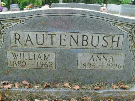 RAUTENBUSH, ANNA - Boone County, Arkansas | ANNA RAUTENBUSH - Arkansas Gravestone Photos