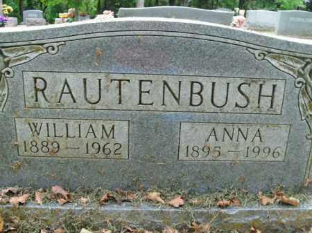 RAUTENBUSH (VETERAN WWI), WILLIAM - Boone County, Arkansas | WILLIAM RAUTENBUSH (VETERAN WWI) - Arkansas Gravestone Photos