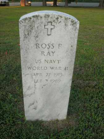 RAY  (VETERAN WWII), ROSS F. - Boone County, Arkansas | ROSS F. RAY  (VETERAN WWII) - Arkansas Gravestone Photos