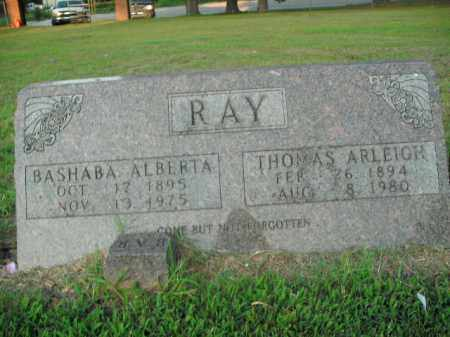 RAY, BASHABA ALBERTA - Boone County, Arkansas | BASHABA ALBERTA RAY - Arkansas Gravestone Photos
