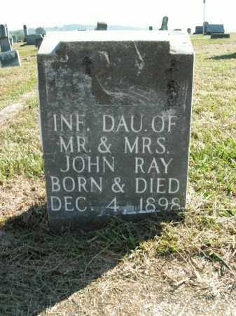 RAY, INFANT DAUGHTER - Boone County, Arkansas | INFANT DAUGHTER RAY - Arkansas Gravestone Photos