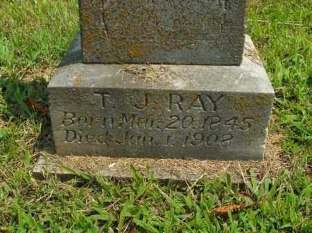 RAY, T.J. - Boone County, Arkansas | T.J. RAY - Arkansas Gravestone Photos
