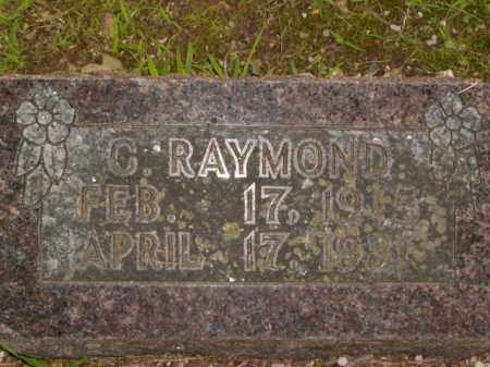 RAYMOND, C. - Boone County, Arkansas | C. RAYMOND - Arkansas Gravestone Photos