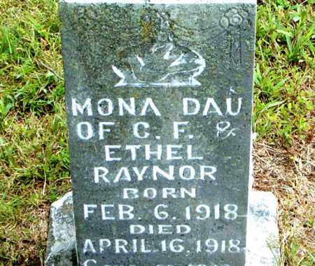 RAYNOR, MONA - Boone County, Arkansas | MONA RAYNOR - Arkansas Gravestone Photos
