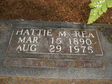 REA, HATTIE M. - Boone County, Arkansas | HATTIE M. REA - Arkansas Gravestone Photos