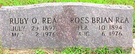 REA, RUBY O - Boone County, Arkansas | RUBY O REA - Arkansas Gravestone Photos