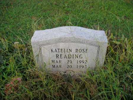 READING, KATELIN ROSE - Boone County, Arkansas | KATELIN ROSE READING - Arkansas Gravestone Photos