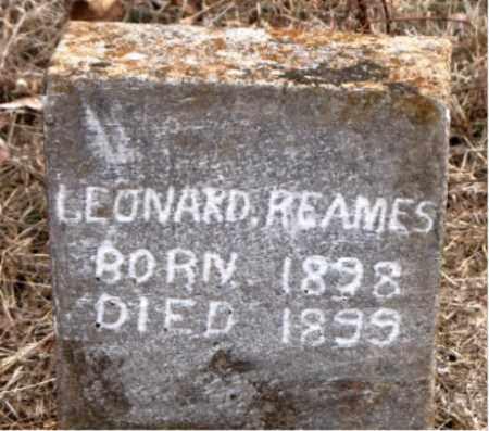 REAMES, LEONARD - Boone County, Arkansas | LEONARD REAMES - Arkansas Gravestone Photos