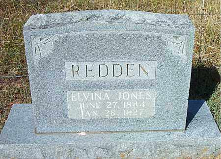 JONES REDDEN, ELVINA - Boone County, Arkansas | ELVINA JONES REDDEN - Arkansas Gravestone Photos