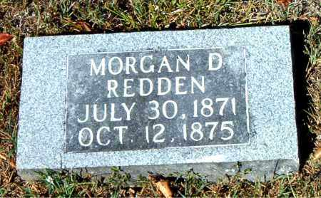 REDDEN, MORGAN  D. - Boone County, Arkansas | MORGAN  D. REDDEN - Arkansas Gravestone Photos