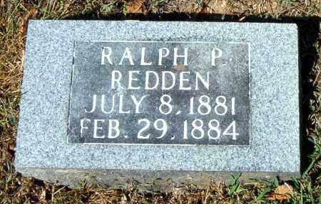 REDDEN, RALPH  P. - Boone County, Arkansas | RALPH  P. REDDEN - Arkansas Gravestone Photos