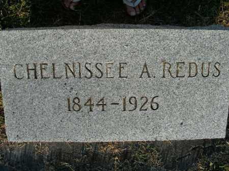 REDUS, CHELNISSEE A. - Boone County, Arkansas | CHELNISSEE A. REDUS - Arkansas Gravestone Photos