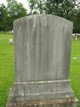 REDWOOD, FREDERICK - Boone County, Arkansas | FREDERICK REDWOOD - Arkansas Gravestone Photos