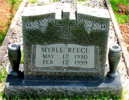 REECE, MYRLE - Boone County, Arkansas | MYRLE REECE - Arkansas Gravestone Photos