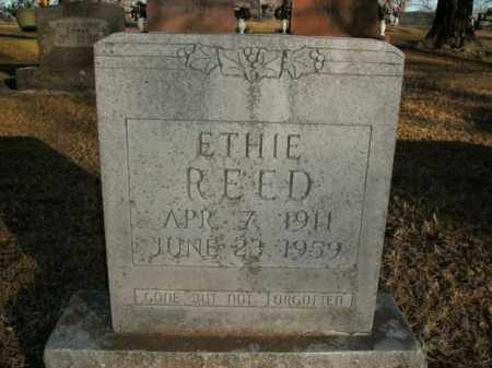 REED, ETHIE - Boone County, Arkansas | ETHIE REED - Arkansas Gravestone Photos