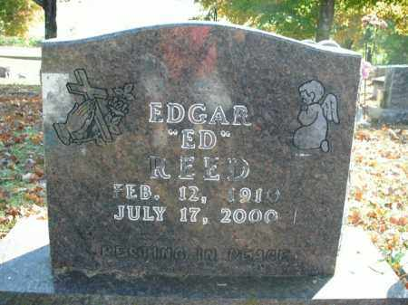 REED, EDGAR - Boone County, Arkansas | EDGAR REED - Arkansas Gravestone Photos