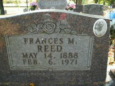 REED, FRANCES M. - Boone County, Arkansas | FRANCES M. REED - Arkansas Gravestone Photos