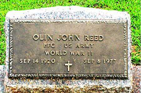 REED  (VETERAN WWII), OLIN JOHN - Boone County, Arkansas | OLIN JOHN REED  (VETERAN WWII) - Arkansas Gravestone Photos
