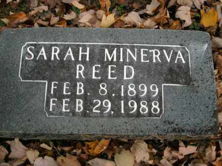 REED, SARAH MINERVA - Boone County, Arkansas | SARAH MINERVA REED - Arkansas Gravestone Photos