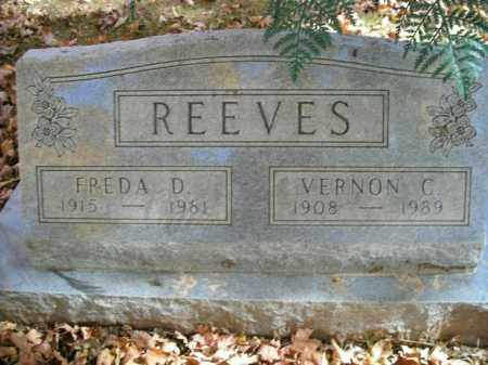 REEVES, FREDA D. - Boone County, Arkansas | FREDA D. REEVES - Arkansas Gravestone Photos