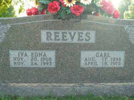 REEVES, CARL - Boone County, Arkansas | CARL REEVES - Arkansas Gravestone Photos