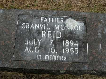 REID, GRANVIL MONROE - Boone County, Arkansas | GRANVIL MONROE REID - Arkansas Gravestone Photos