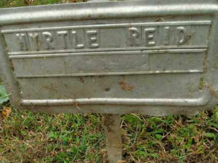 REID, MYRTLE - Boone County, Arkansas | MYRTLE REID - Arkansas Gravestone Photos