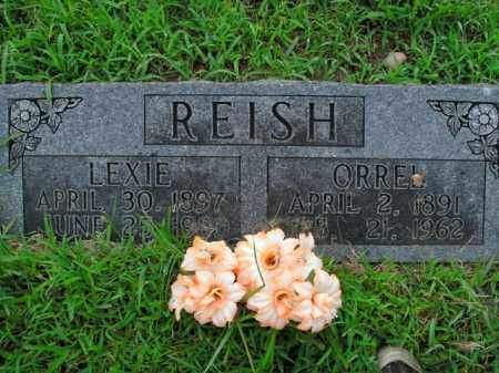 REISH, ORREL - Boone County, Arkansas | ORREL REISH - Arkansas Gravestone Photos