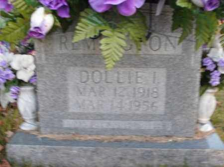 REMINGTON, DOLLIE I. - Boone County, Arkansas   DOLLIE I. REMINGTON - Arkansas Gravestone Photos