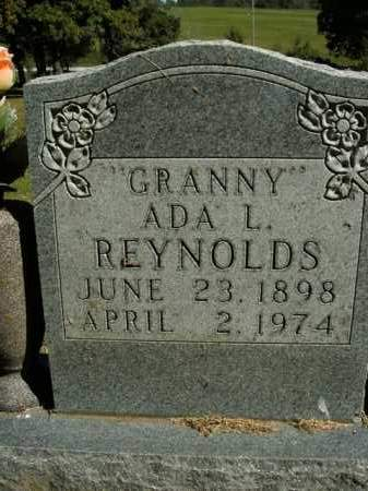 REYNOLDS, ADA L. - Boone County, Arkansas | ADA L. REYNOLDS - Arkansas Gravestone Photos