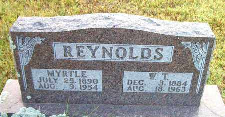 REYNOLDS, W.  T. - Boone County, Arkansas | W.  T. REYNOLDS - Arkansas Gravestone Photos